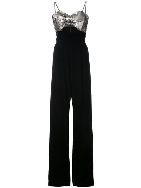 Petersyn jumpsuit women cotton black