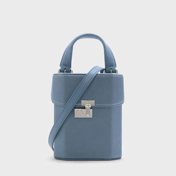 handbag blue bag