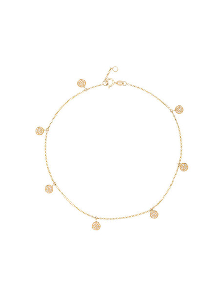 Shay women anklet gold grey metallic jewels