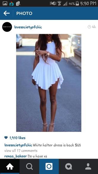 dress white dress romper short white gold pleated