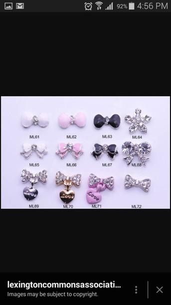 jewels nail jewelry