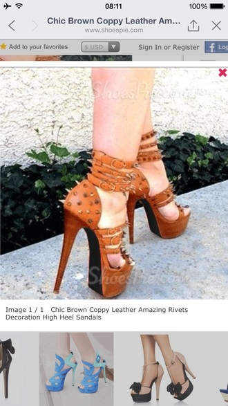 shoes spikes pumps high heels platform high heels