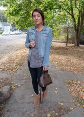 seekingsunshine,blogger,top,jacket,leggings,shoes