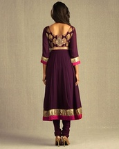 dress,folk,indian,russian,purple,maxi dress