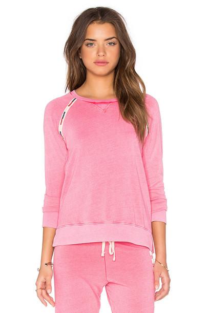 SUNDRY sweatshirt pink