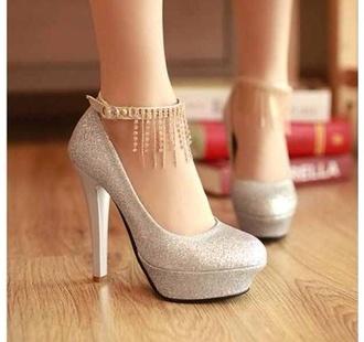 shoes nude nude high heels high heels cream high heels tassle shorts cute high heels silver shoes prom shoes prom dress pink princess baby pink heels platform shoes glitter black heels