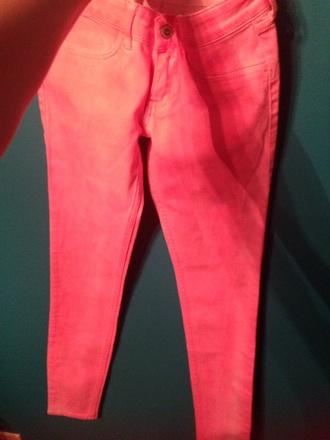jeans pretty pink