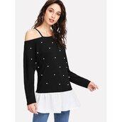 top,summer,trendy,styles,asymmetrical,long sleeves