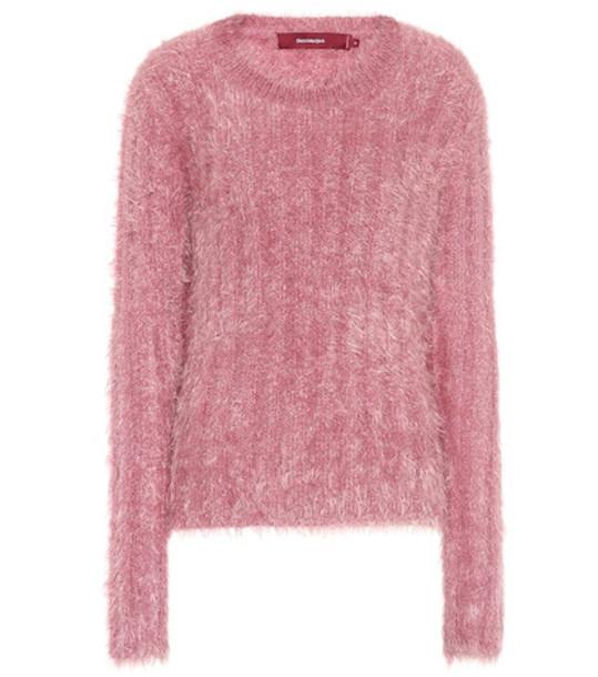 Sies Marjan Wool-blend sweater in pink