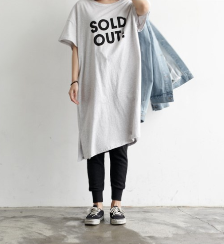 Sold out! long shirt