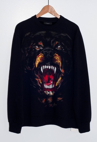 sweater givenchy dog