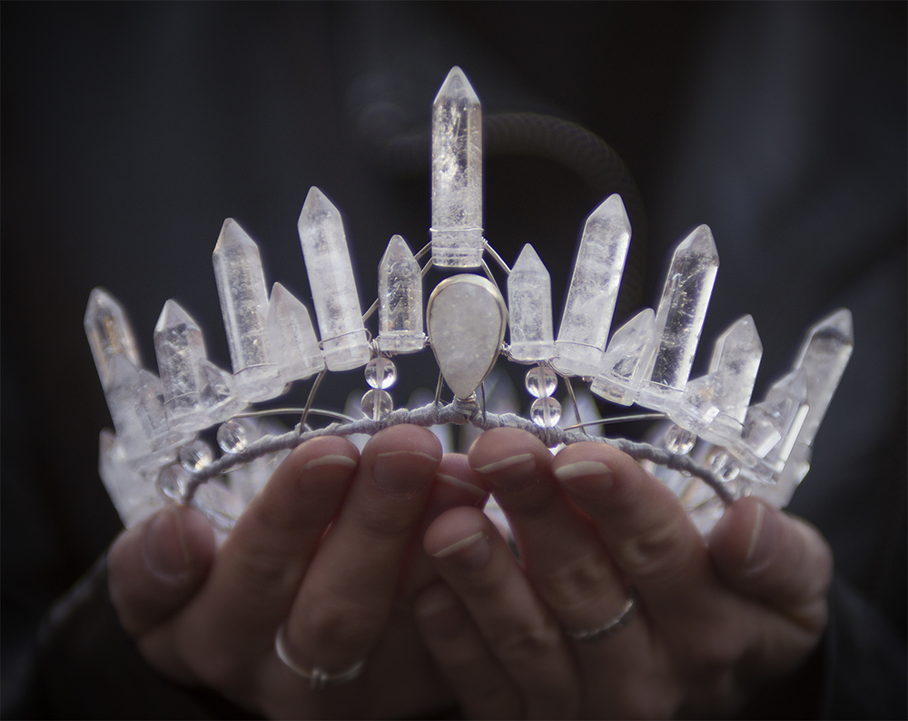 Mountain Witch Quartz Crown — ElementalChild