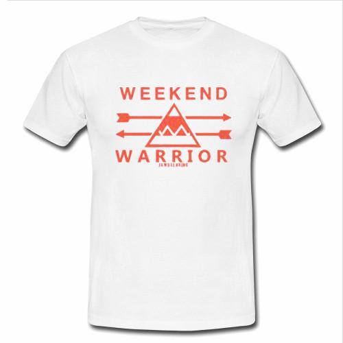 weeknd warrior tshirt