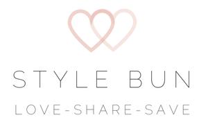 Black bow heels ? style bun