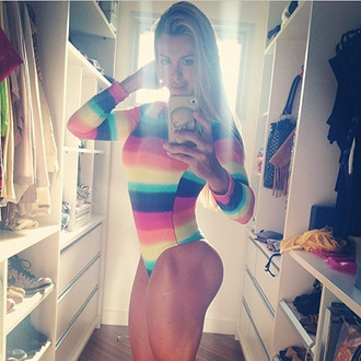 shirt blue yellow purple orange red tan one 2014 fashion style sleeve summer bodysuit body leotard navy stripes stripped shirt pink one piece tight spring sexy baby blue girly long sleeves