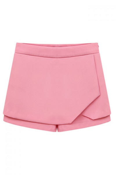 KCLOTH Sweet Color Summer Short with Design Detailed