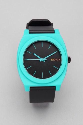 jewels watch nixon black blue