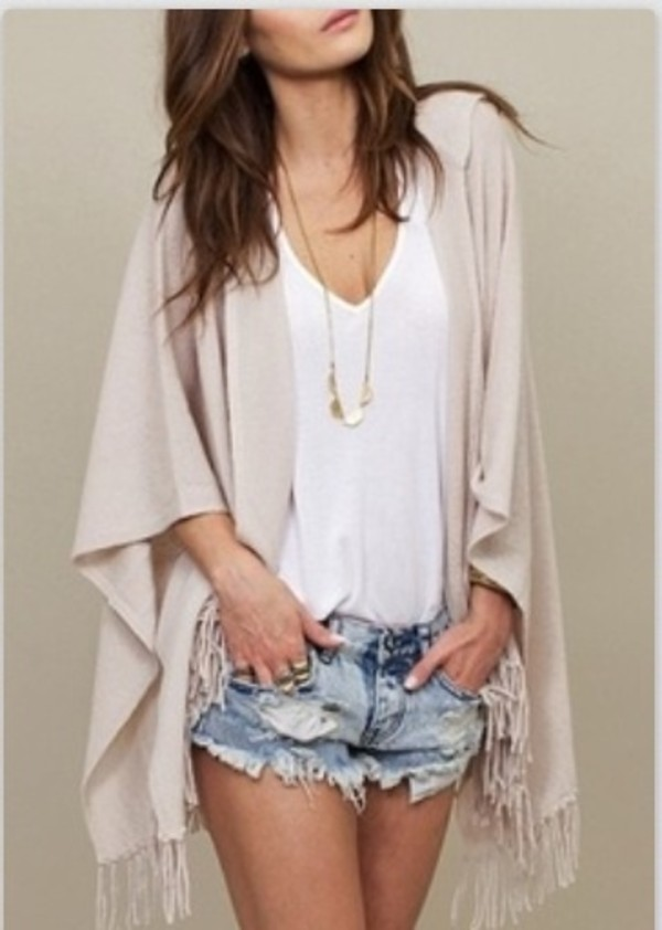 sweater shorts shirt