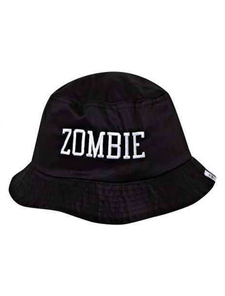 Hat Stussy Flatbush Zombies Bucket Black