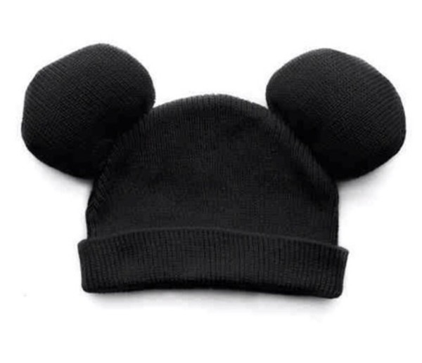 mickey mouse beanie mickey mouse disney ear hat ear beanie ear black beanie