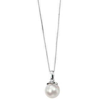 jewels pearl silver necklace