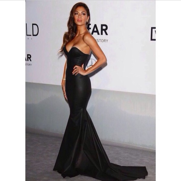 formal dress prom dress prom dress prom dress prom dress black dress nicole scherzinger dress leather look maxi dress black dress leather dress leather
