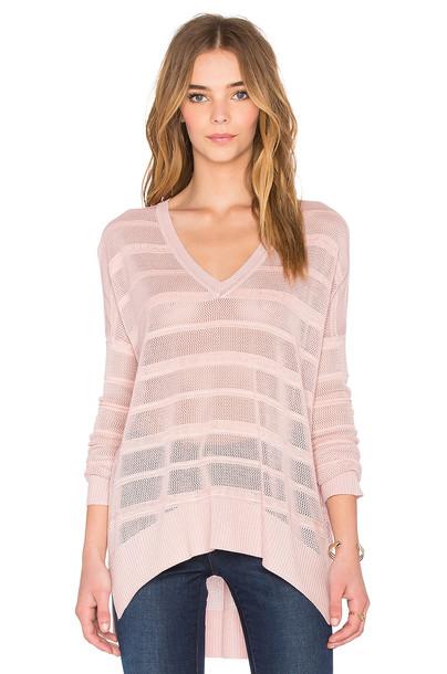 John & Jenn by Line sweater pink