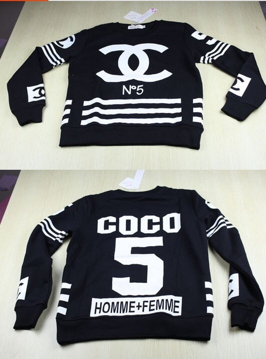 Eclothing — jog sport sweat and pants cc homme femme coco black or white