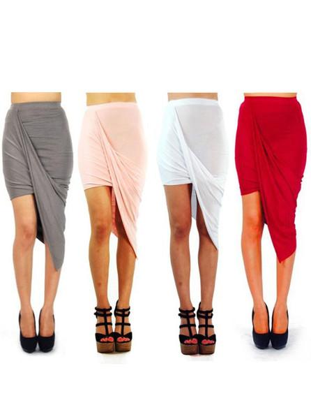 Collie wrap skirt