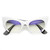 Trendy Womens Fashion Modern Cat Eye Bottom Cut Sunglasses 9232                           | zeroUV