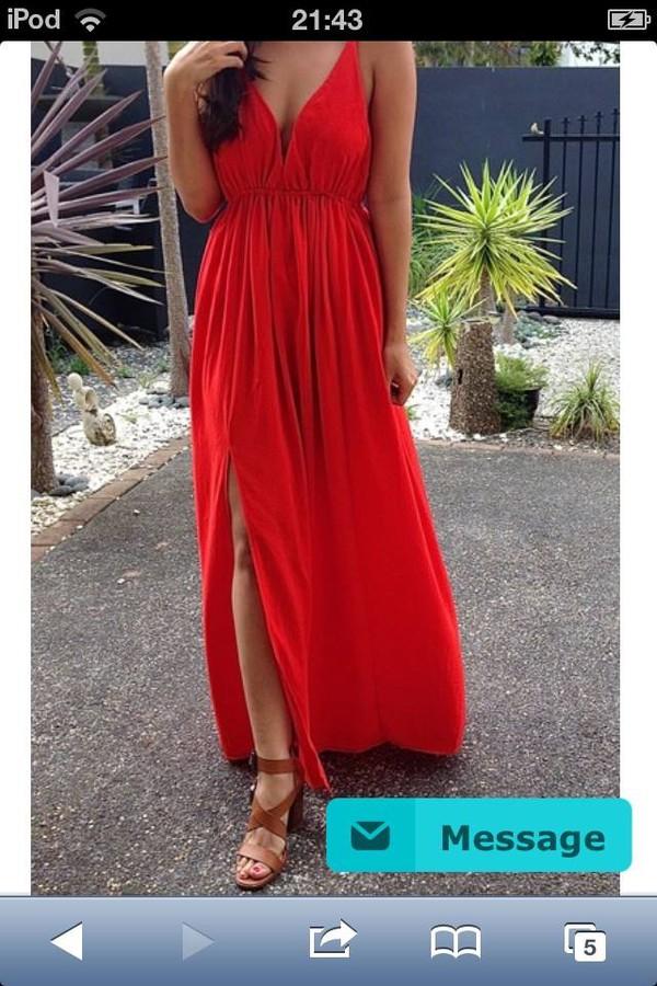 maxi dress red dress maxi dress