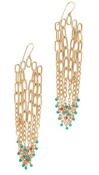 long earrings pendant gold jewels