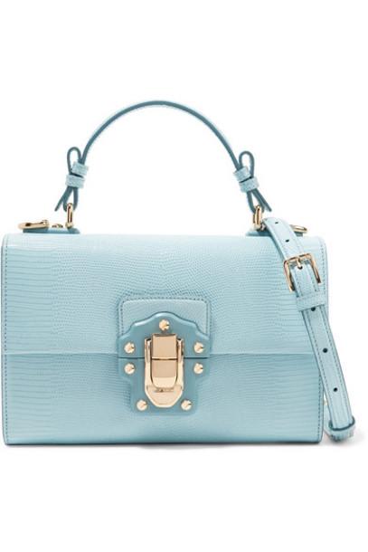 Dolce & Gabbana bag shoulder bag leather blue sky blue