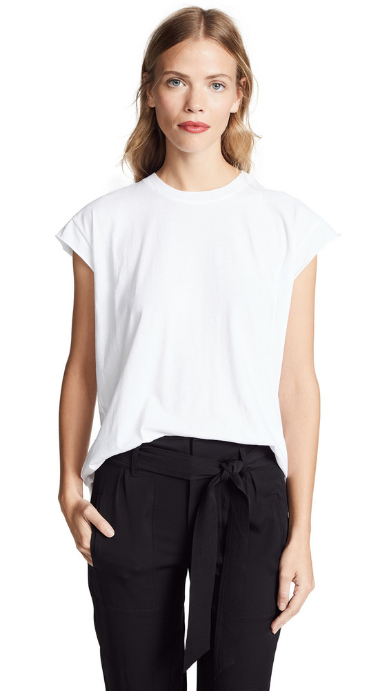 AYR The Supercool Tee in white