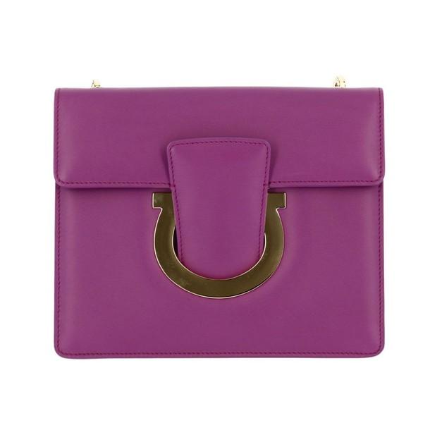 Salvatore Ferragamo women bag shoulder bag plum