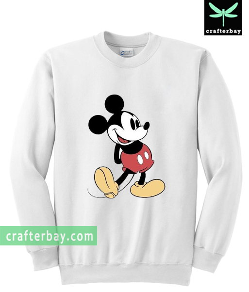 mickey mouse vintage sweatshirt