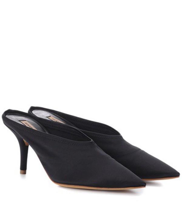 Yeezy Satin mules (SEASON 6) in black