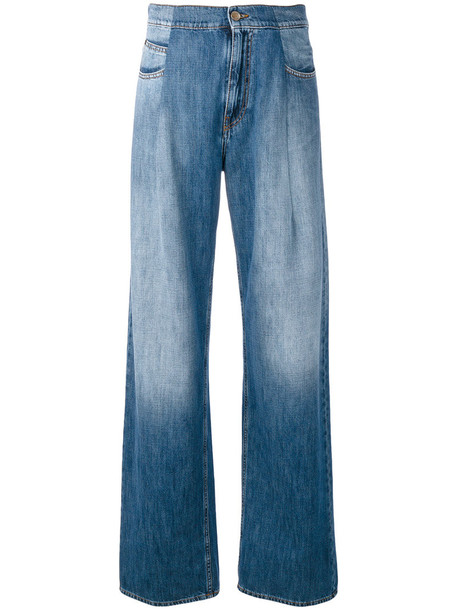 MAISON MARGIELA jeans women cotton blue