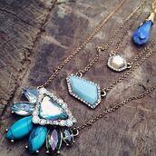 jewels,cherry diva,quirky jewellery,boho jewelry,boho necklace,necklace,statement necklace,silver necklace,gold necklace,moonstone necklace,jewelry,bohemian,bohemian jewellery