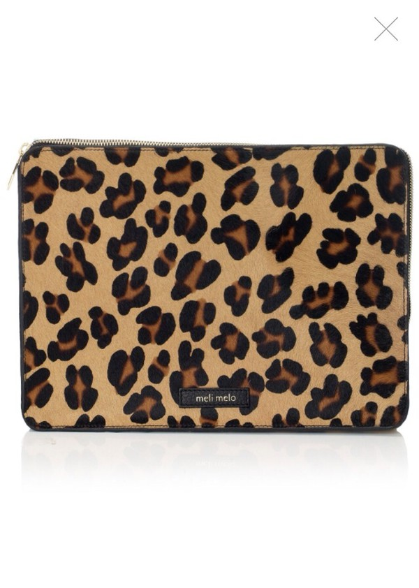 bag leopard clutch