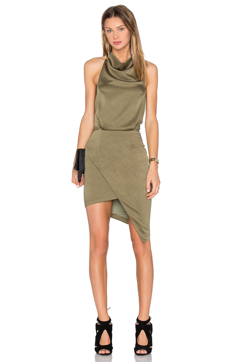 ELLIATT Camo Dress in green