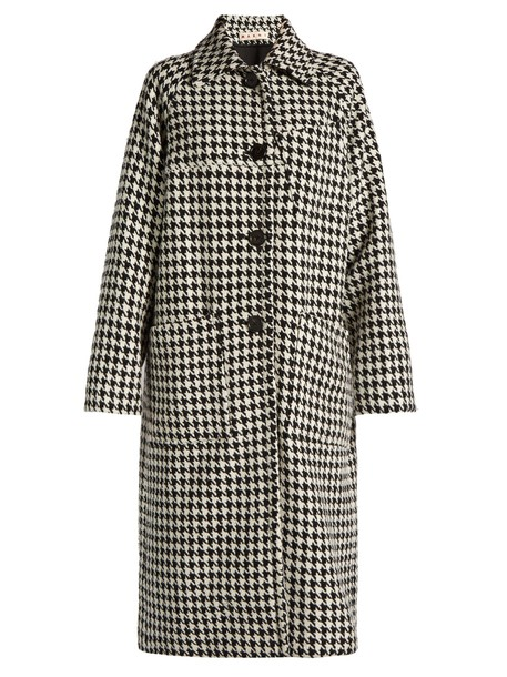 MARNI coat car coat car white black