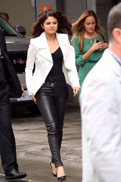 jeans jacket top bodysuit selena gomez