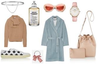 vasilieva blogger sunglasses jewels bag coat shoes sweater