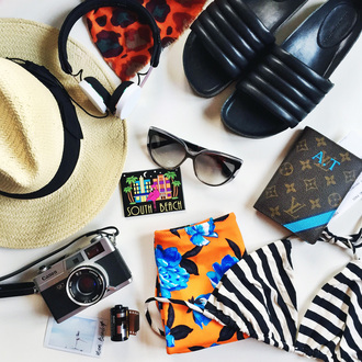 style scrapbook blogger hat slide shoes cat eye