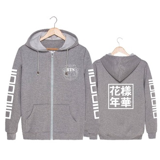 sweater jacket grey sweater