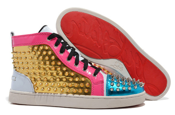 shoes color gold sneakers pink blue whie red
