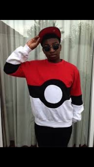 sweater mens sweater pokemon