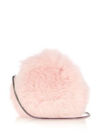 fur fox love bag light pink light pink