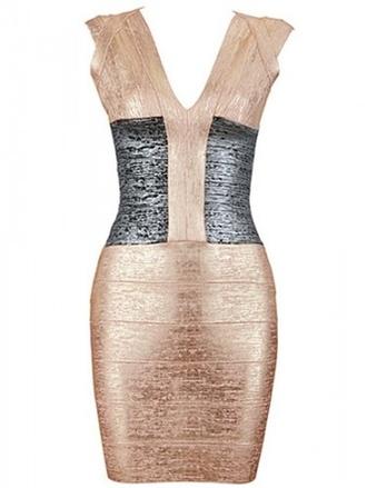 dress gold bandage dress gold dress bandage dress celebrity style